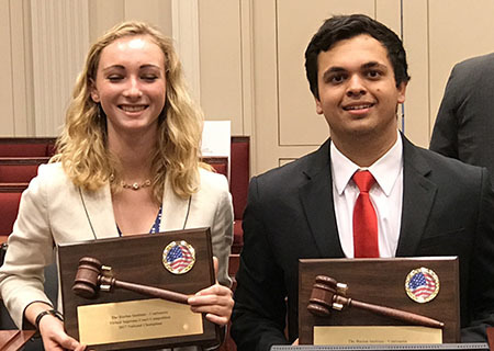 GHS Students Win the National Harlan Institute – ConSource Virtual Supreme  Court Competition