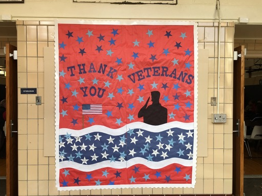 NMS Celebrates Veterans Day