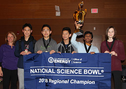 GHS Students Win  National Science Bowl® Regional Competition