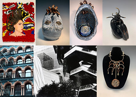 Seven GHS Students Win Scholastic Art Awards