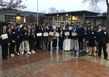GHS Model United Nations Club Receives Record Honors at Harvard Model UN Conference