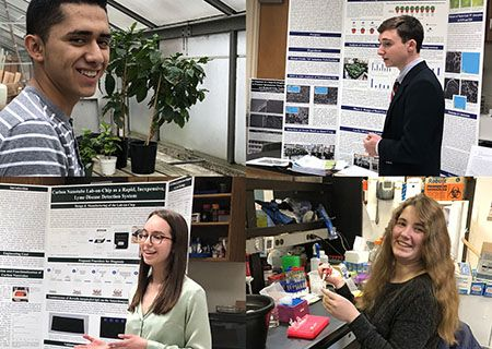 4 GHS Seniors Named as Top 300 Scholars in 2021 Regeneron Science Talent Search