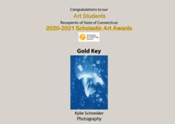Eight GHS Students Honored in Scholastic Art Awards