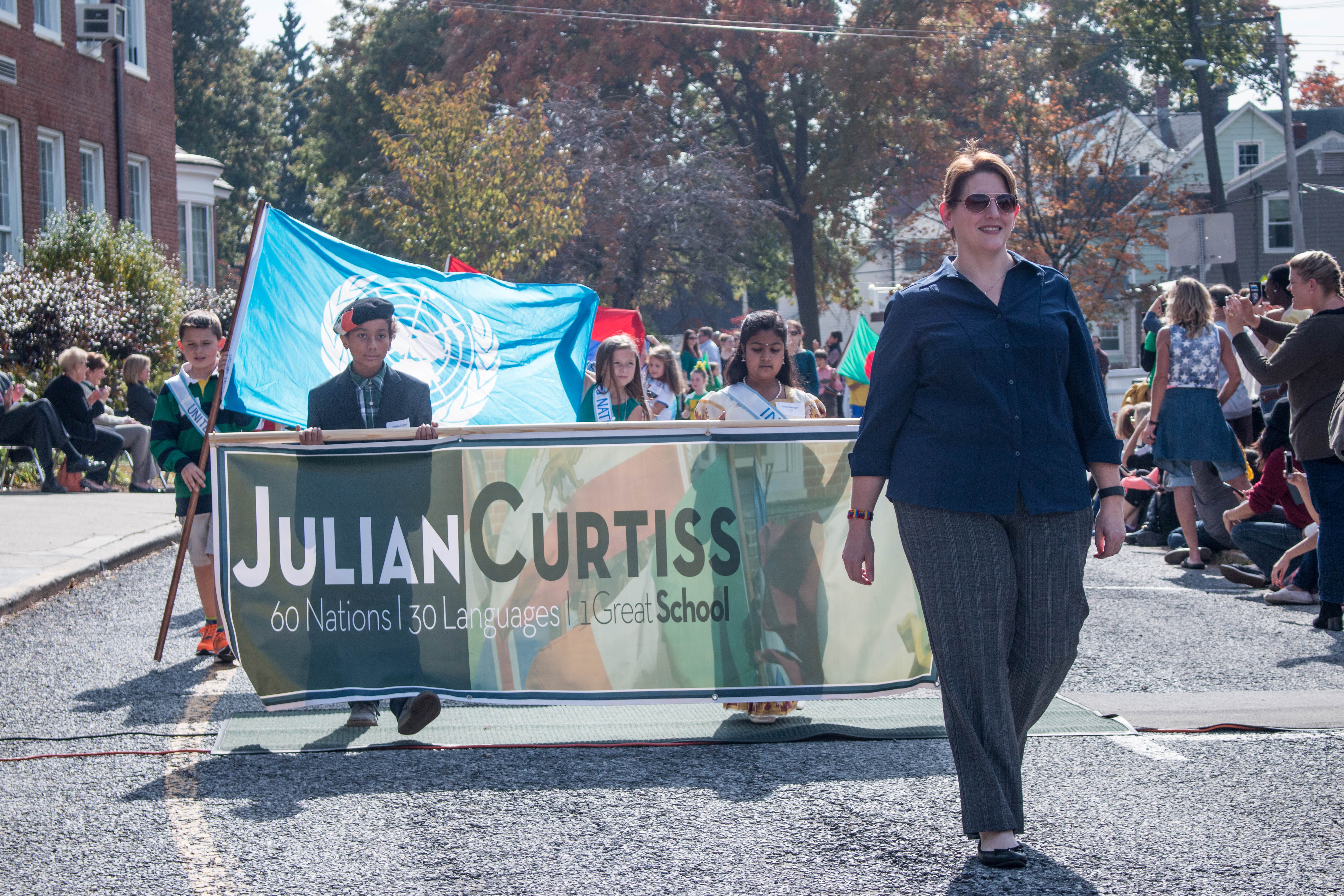 Picture of Julian Curtiss School Parade