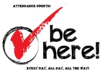 Be Here Graphic Above