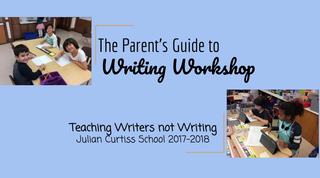 Parent's Guide to Writing Workshop Presentation