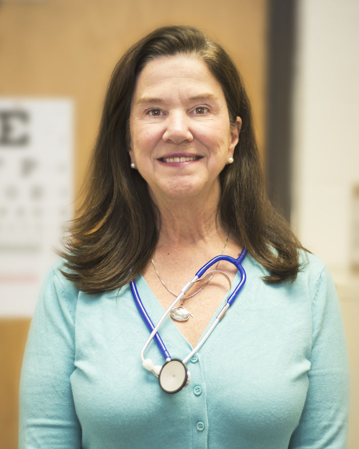 photo of school nurse, Julie prescott