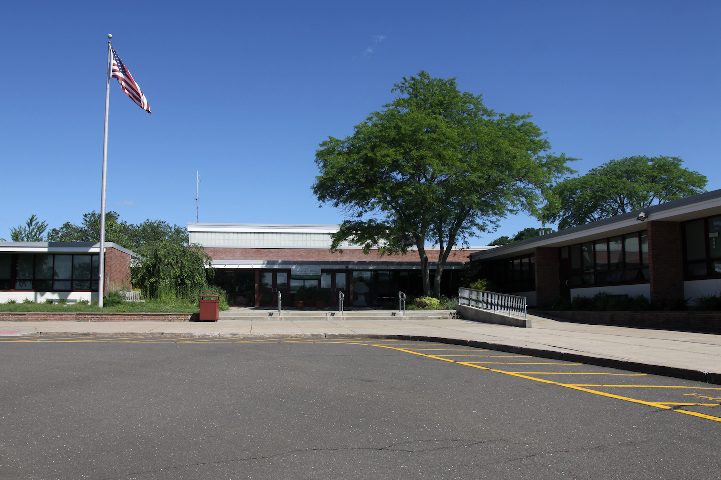 photo of front of school